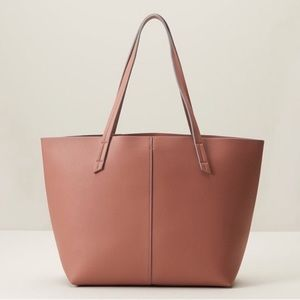 NWT Indigo Essential Tote Bag Dark Pink